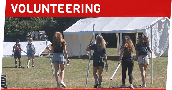 VOLUNTEER FOR M FEST